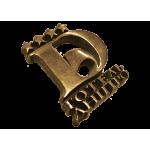 Custom metal logo & label