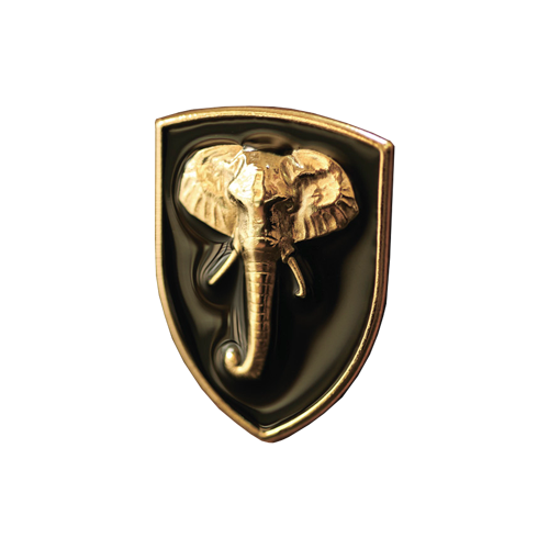 Metal emblems on order