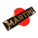 Metal emblem / Label - MARTINI
