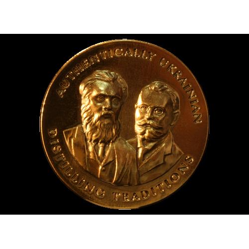 Production metallis emblem & label for StaritskyLevitsky