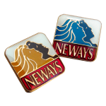 Custom pins/badges for NEWAYS company